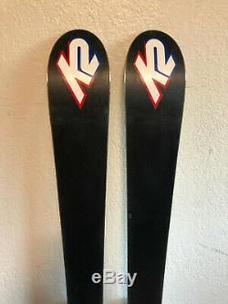 K2 Lotta Luv Women's Mid-Fat All-Mountain Downhill Skis 160 cm. Lotta Love