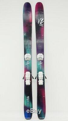 K2 Luv Boat Women's All Mountain Skis 177 CM Tyrolia Attack 12 Bindings