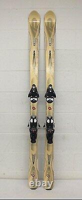 K2 T-Nine Inspire Luv 167cm 107-70-97 Downhill Skis withSalomon S810 TI Bindings