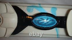 K2 Tru Luv Womens All Terrain Skis 149 cm with Marker Erp 10.0 Bindings Blue White