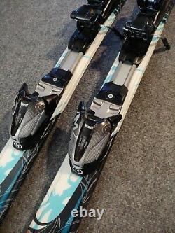 K2 True Luv TNINE Womens Girls 156cm Skis Marker 11.0 Bindings