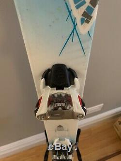 K2 Women's BrightSide All Mountain Backside Ski (160cm) 90mm under foot