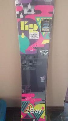 K2 womens va va voom snowboard 152 BRAND NEW
