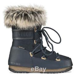 Ladies Moon Boot Monaco Low Waterproof 2 Rain Mountain Outdoor Boots All Sizes