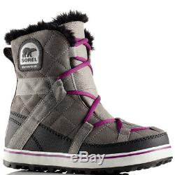Ladies Sorel Glacy Explorer Shortie Walking Hiking Mountain Rain Boots All Sizes
