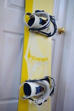 Liquid Elixir Snowboard Size 145 CM With Ride Medium Binding
