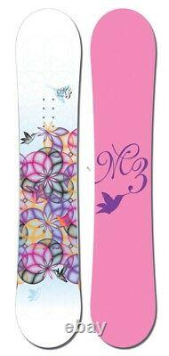 M3 Millenium 3 ESCAPE Womens Snowboard NEW 149cm
