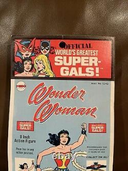 Mego Kresge Wonder Woman 1973 8 Figure Mint On Card All Original Vintage Mego