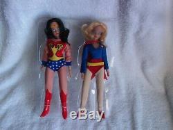 Mego Wonder Woman & Supergirl All Original Mint