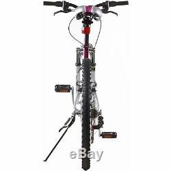Mountain Bike Punisher Women's 21 Speed Dual Suspension All Terrain Purple