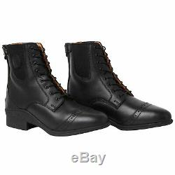 Mountain Horse Aurora Lace And Back Zip Womens Boots Paddock Black All Sizes