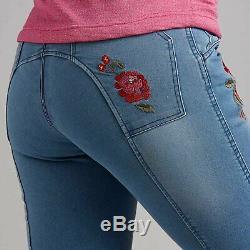 Mountain Horse Blossom Denim Womens Pants Riding Breeches Blue All Sizes