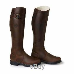 Mountain Horse Spring River Womens Boots Long Riding Brown All Sizes