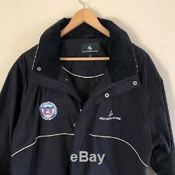 Mountain Horse Womens All American Quarter Horse Congress Navy Jacket Size L
