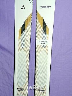 NEW! Fischer Ranger W98 Women's All-Mountain Skis 164cm FreeSki Rocker W 98 NEW