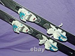 NEW! K2 Sweet Luv All-Terrain Women's 163cm Rocker Skis with Marker 10 Bindings