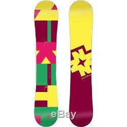 NEW NIKITA CHIKITA Snowboard Womens Girls Rocker All Mountain Snow Board