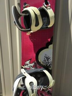 NEW NOS 148cm Womens 5150 Velour Snowboard With 5150 Med Binding