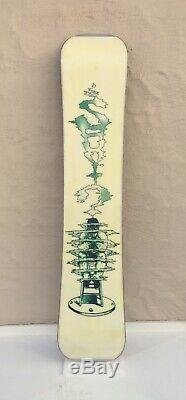 NEW Vintage 1995 Shuvit Stress 153cm Snowboard Deck