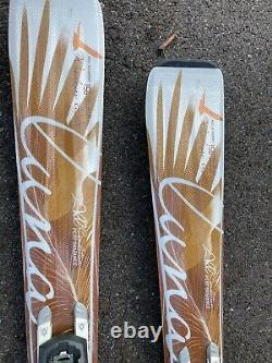 NEW Volkl Attiva Luna 156cm Women's Skis STORE DISPLAY LAST SEASON NEVER ON SNOW