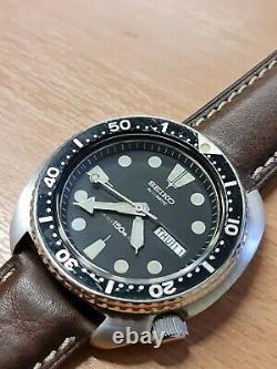 NR MINT ALL GENUINE Seiko Turtle 6309-7040 August 1984 Birth year divers watch