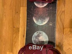 Never Summer Proto Type Two 142 cm Womens Snowboard like new 2018 model