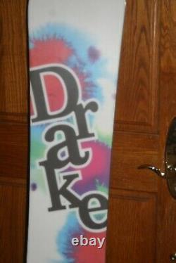 New DRAKE Women SNOWBOARD 152cm
