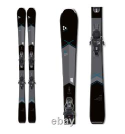 New Fischer My Aspire alpine women 140cm skis/bindings SLR all mountain downhill