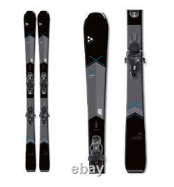 New Fischer My Aspire alpine women 160cm skis/bindings SLR all mountain downhill