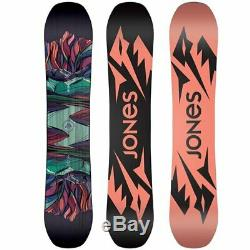 New Womens Jones Twin Sister Snowboard Size 152