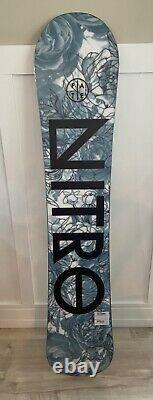 New Womens Nitro Fate 144cm snowboard