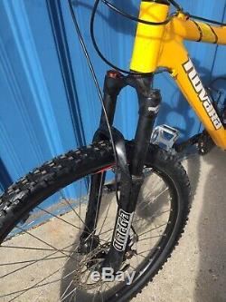 Novara Bliss 1.0 all trail 4.0 flow women's specific geometry 16 mountain bike