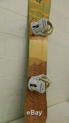 RAMP Sagebrush 152cm Twin-Tip Rocker Camber Snowboard Burton Freestyle Bindings