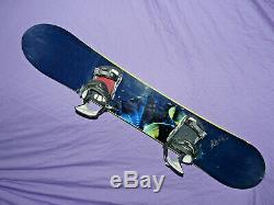 RIDE Vista WOMEN'S All-Mountain Snowboard 152cm with RIDE SPi Bndings Size Medium