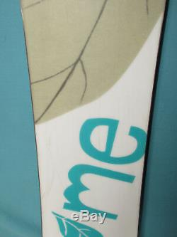 ROME BLUE women's snowboard 151cm all mountain ride bindings not included SNOW