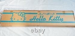 Rare & Brand New Light Blue Snow Angel Hello Kitty Sanrio Snow broad 142cm 55.9