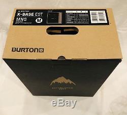 Rare SOLD OUT Burton X Base EST Snowboard Bindings Med Black MAG NIB $549.95