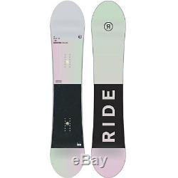 Ride Compact Damen Snowboard Freestyle all Mountain Rocker Board 2019 New