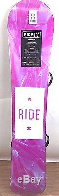 Ride Compact Snowboard & Ride Lxh Bindings - Women's - Brand New