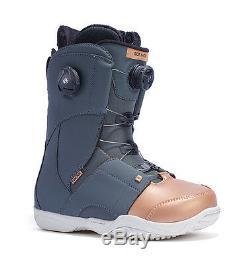 Ride Womens Snowboard Boots Hera Boa, Tonge Tied, All-mountain, 2017