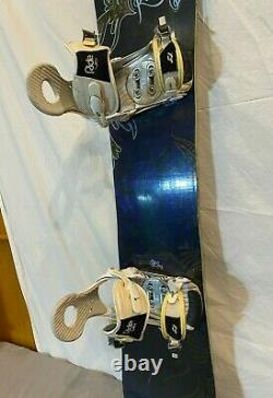 Rossignol Diva 144cm Twin-Tip All-Mountain Snowboard withRIDE VXN Bindings Medium