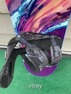 Rossignol Diva 148 cm Women's Snowboard with Ride VXN Bindings MINT CONDITION