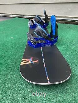 Rossignol Justice 145cm Women's Snowboard with Burton Progression Bindings MINT