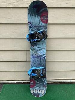 Rossignol Meraki 145cm Women's Snowboard with Burton Stilleto SM Bindings MINT