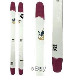 Rossignol Star 7 (188cm) woman's big all mountain freeride powder skis -65% £230