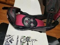 Roxy Girls Snowboard Size 148 CM With Burton Lexa Medium Bindings