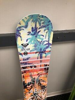 Roxy Sugar 142cm All Mountain Womens Snowboard NEW