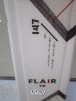 SKIS VOLKL Flair 76 147cm 2021 with Marker VMotion 9 GW Lady Bindings NEW
