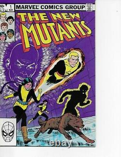 SPIDER-WOMAN 1, MOON KNIGHT 1 and NEW MUTANTS 1 ALL NEAR MINT- 9.2