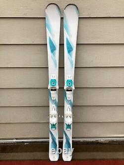 Salomon Kiana 144cm Women's Ski with Salomon Lithium 10 Bindings GOOD CONDITION